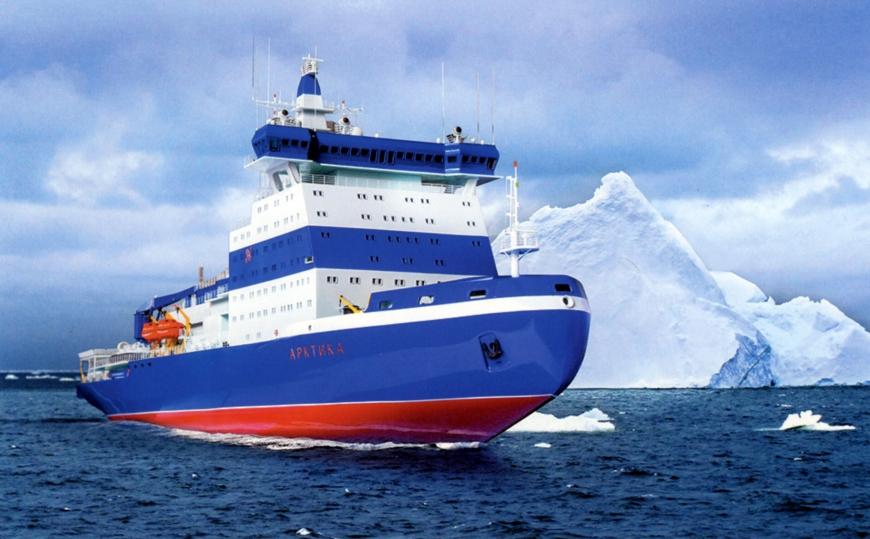 "Атомный ледокол ""Арктика"". Фото https://iceberg.org.ru/portfolio/modern-house/, ""Metro"""