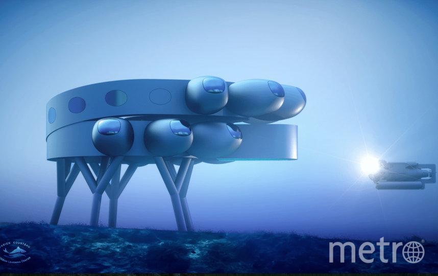 18,2 м – глубина, на которой будет находиться станция Proteus. Фото PROTEUS