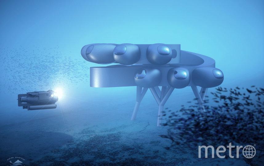 Станция Proteus позволит проводить масштабные глубоководные исследования. Фото PROTEUS