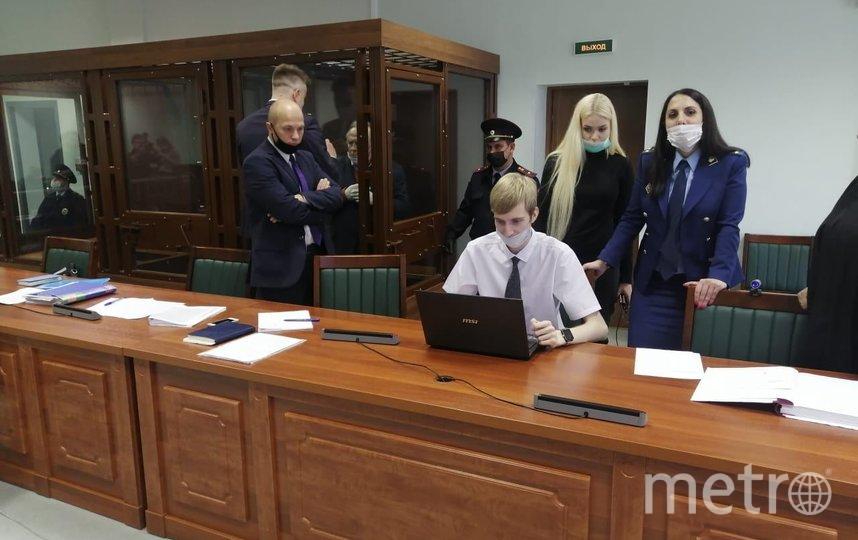 Фото судебного заседания. Фото Объединенная пресс-служба судов Петербурга.