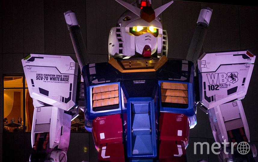 Гигантский японский робот Gundam. Фото Getty