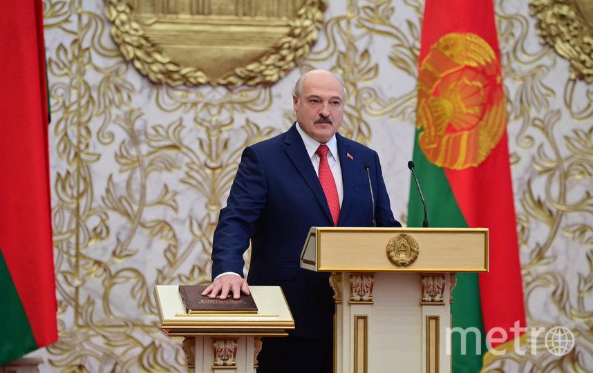 Присягу Лукашенко дал на белорусском языке. Фото AFP