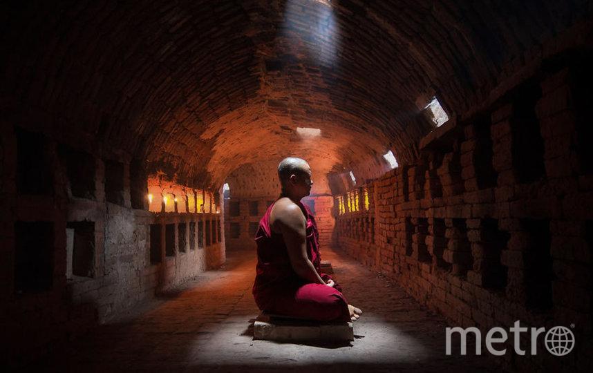 Монах обретает покой.