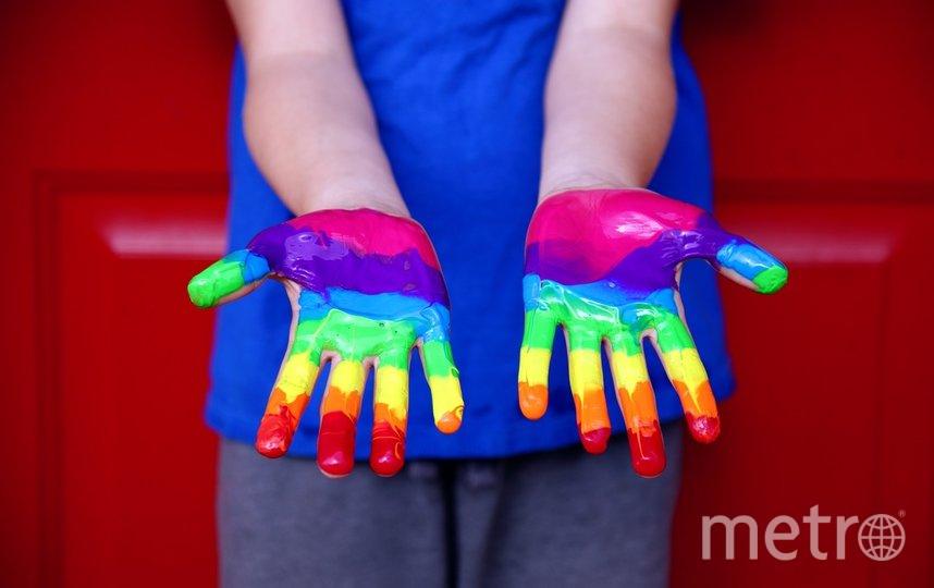 """Радужный флаг был разработан Гилбертом Бейкером специально для гей-прайда в Сан-Франциско 1978 года. Фото pixabay.com, """"Metro"""""""