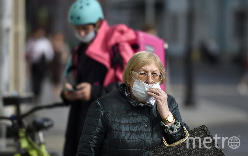 В Москве ввели новые ограничения для пожилых. Фото AFP