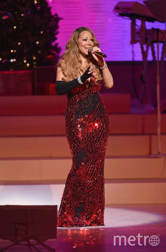 Певица Мэрайя Кэри. Фото Getty