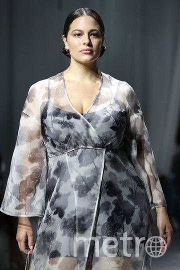 Модель Эшли Грэм. Фото Getty