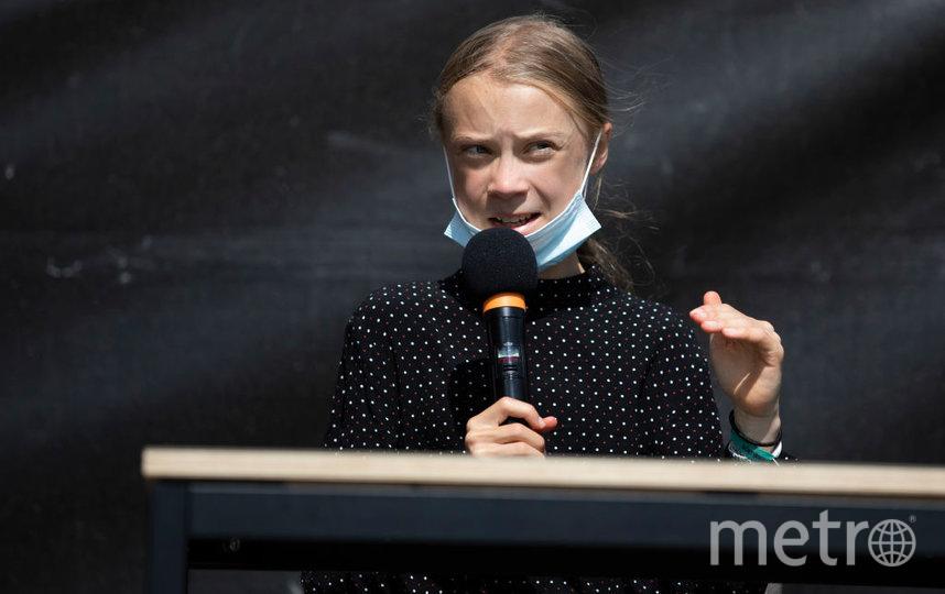 Экоактивистка Грета Тунберг. Фото Getty