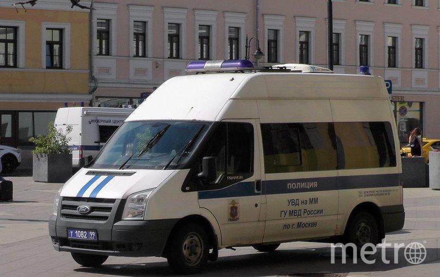"""Сотрудниками полиции проводится дальнейшая проверка. Фото агентство """"Москва"""""""