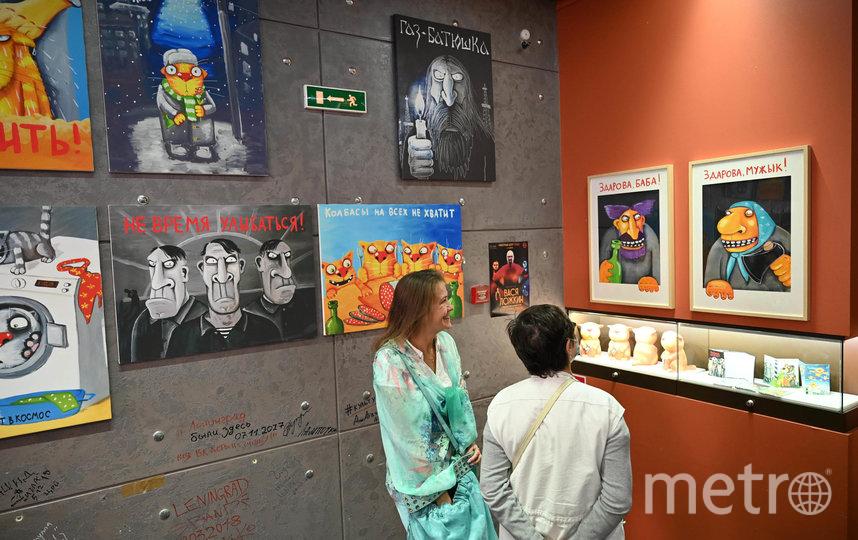 """В экспозиции представлено 56 картин. Фото Святослав Акимов, """"Metro"""""""