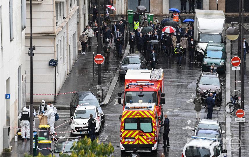 Нападение произошло на фоне громкого судебного процесса по делу о теракте в редакции Charlie Hebdo 2015 года. Фото AFP