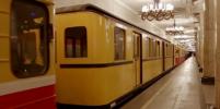 В метро Петербурга показали транспортировку