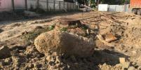 Бомбу весом 500 кг обнаружили на одной из стройплощадок в Петербурге