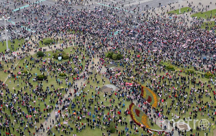 Оппозиция не признает эти результаты и считает их сфальсифицированными. Фото AFP