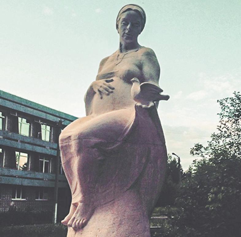 Эту скульптуру в Пермском крае инициаторы установки памятника в Москве считают удачной. Фото Instagram @jshe_she