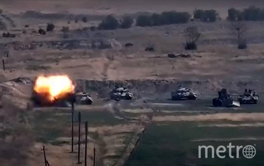 Утром 27 сентября армии Армении и Азербайджана начали боевые действия. Фото AFP