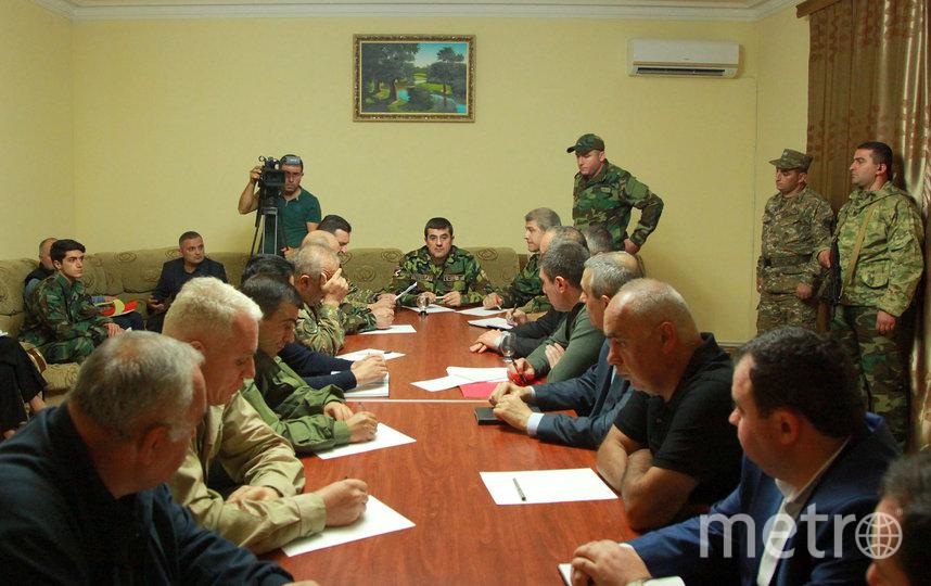 Лидеры Нагорного Карабаха. Фото AFP