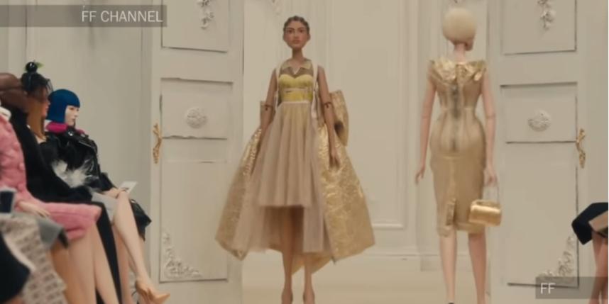 Шоу марионеток: Moschino представил необычную коллекцию весна-2021