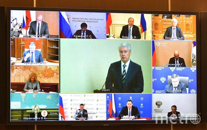 Как сообщили в пресс-службе Кремля, заседание прошло в формате видеоконференции. Фото kremlin.ru