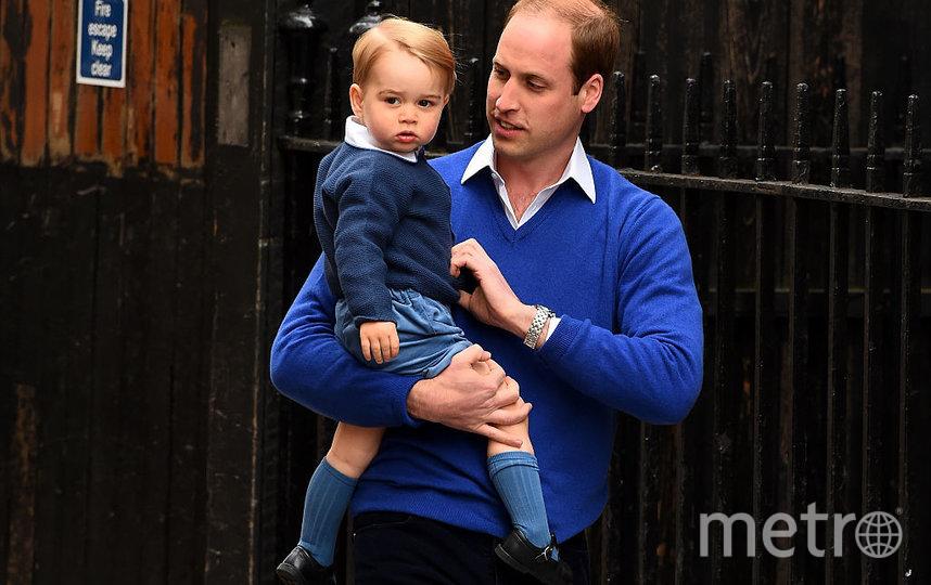 Принц Уильям и принц Джордж. Фото Getty