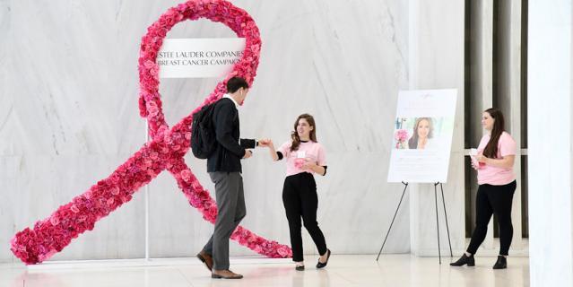 """Задача """"Кампании по борьбе с раком груди"""" – проинформировать о причинах и симптомах заболевания, а также рассказать о методах своевременной профилактики."""