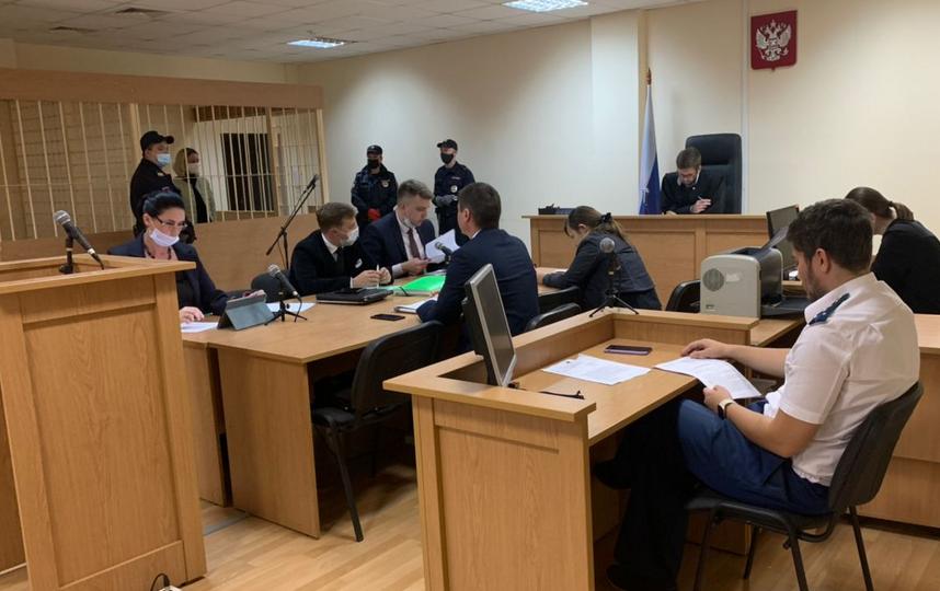 По решению суда, она будет находиться в СИЗО до 30 октября. Фото Объединенная пресс-служба судов Петербурга.