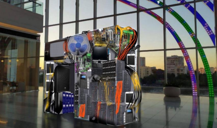 Творческий манифест галереи призывает задуматься об эффективной утилизации отходов. Фото предоставлено организаторами