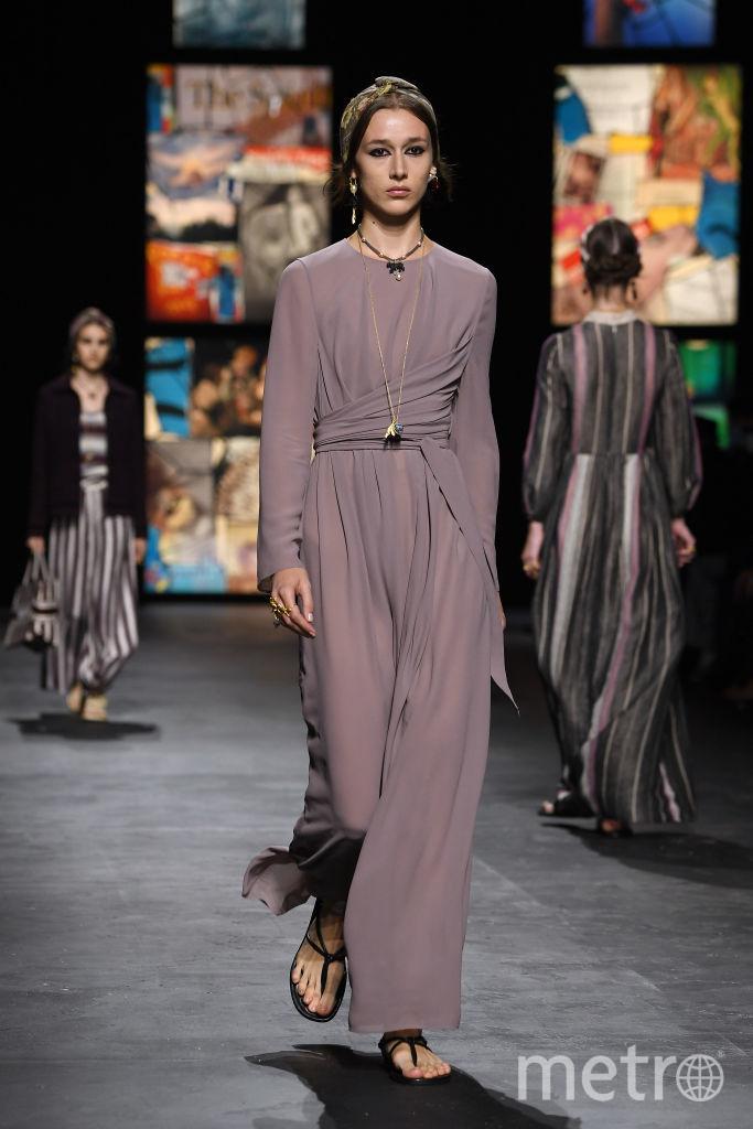 Неделя моды в Париже/ коллекция весна-лето – 2021 от Dior. Фото Getty