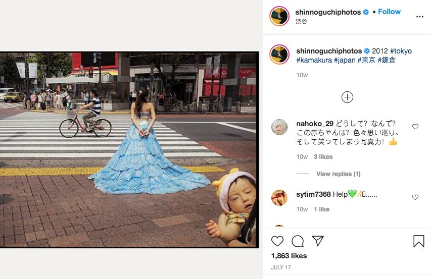 Фото Шина Ногучи с улиц городов в Японии. Фото https://www.instagram.com/shinnoguchiphotos/