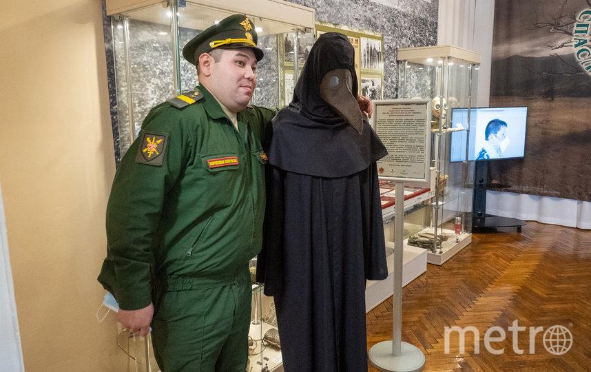 """В музее ведут TiKTok, где ввели персонажа - Чумного доктора. Фото Святослав Акимов, """"Metro"""""""