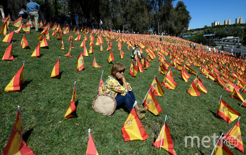 Испания является лидером по количеству выявленных случаев Covid-19 Европе. Фото AFP