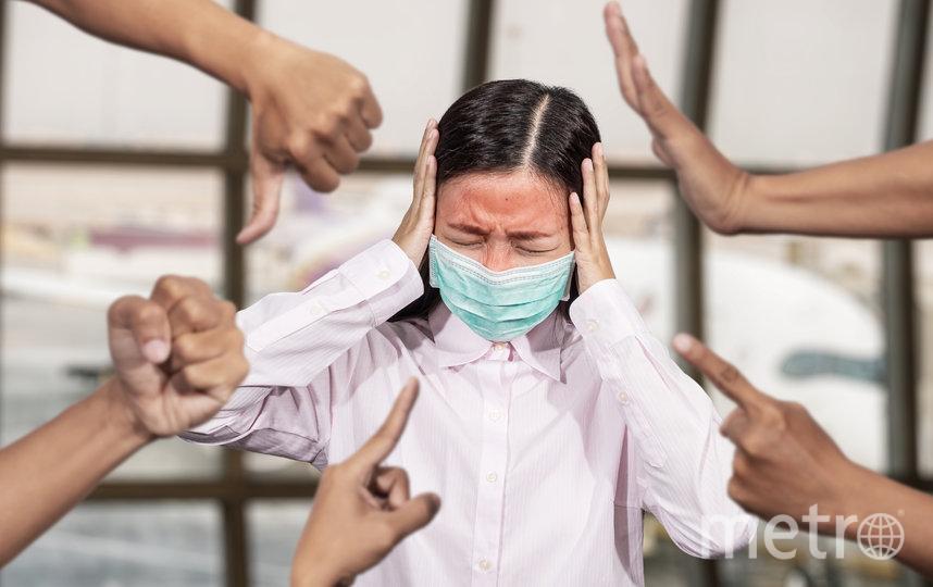 Те, кто не хочет носить маски, агрессивны к тем, кто их использует. Фото istock