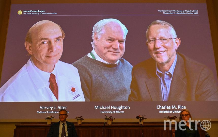 Благодаря этим учёным человечество сможет победить гепатит C. Фото AFP