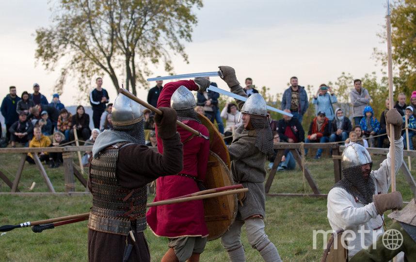 """Бои команд из блока раннее средневековье. Фото Йолдыз Халиуллина, """"Metro"""""""
