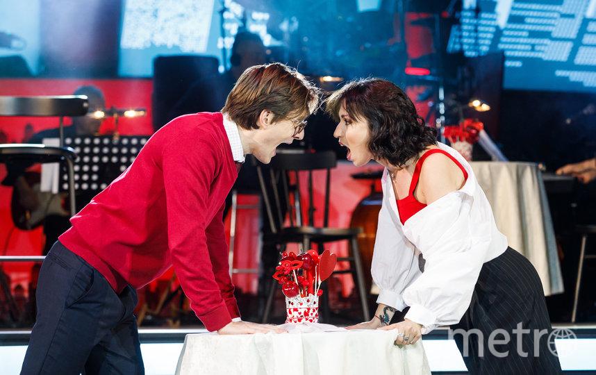 Олег Савцов (Дэвид) и Юлия Чуракова (Джессика). Фото пресс-служба постановки.