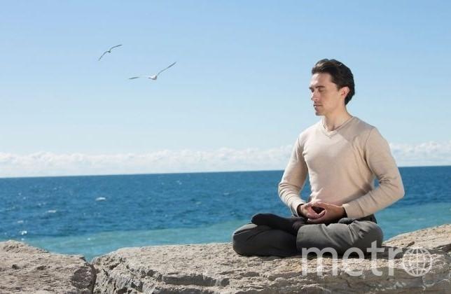 Выполнение пятого комплекса упражнений Фалунь Дафа.