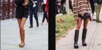 Мода на резиновые сапоги вернулась: что носят в этом сезоне