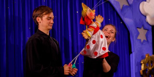 Мурманский областной театр кукол на проспекте Ленина - ещё одна новая точка притяжения жителей и гостей Мурманска.