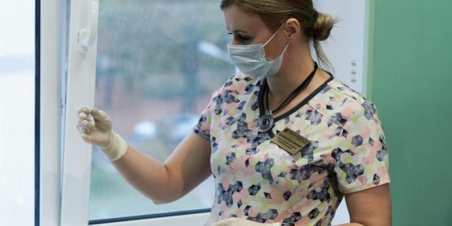 На данный момент привит 21 сотрудник 40-й больницы.