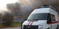 Взрывы под Рязанью продолжаются: пожар уничтожает дома, людей эвакуировали