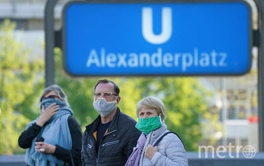 Жителям Германии необходимо носить маски в магазинах, транспорте и общественных учреждениях. Фото Getty
