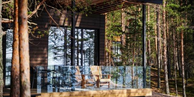 """Новый экологичный отель """"Точка на карте. Видлица"""" примет первых гостей уже 16 октября."""