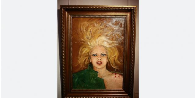 Картины Васильевой, которые были представлены на выставке в Москве в 2014 году.