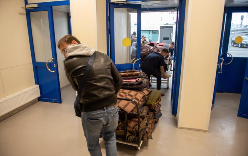 """Прием ковид-пациентов начинается с 12 октября 2020 года. Фото Святослав Акимов, """"Metro"""""""