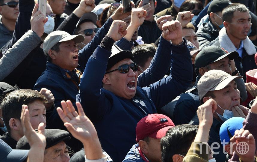 ЦИК Киргизии пошла на уступки протестующим – результаты парламентских выборов отменили. Фото AFP
