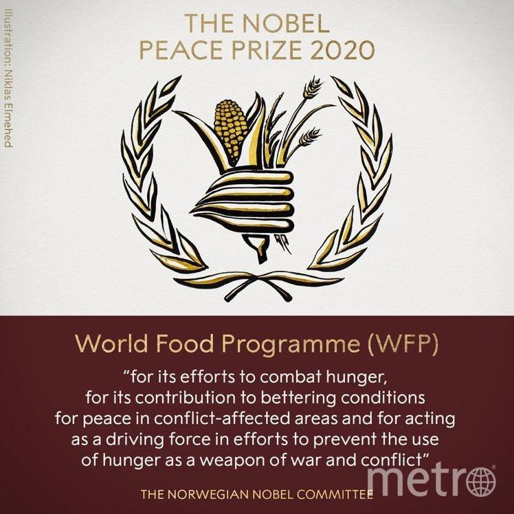 Вручена нобелевская премия мира.