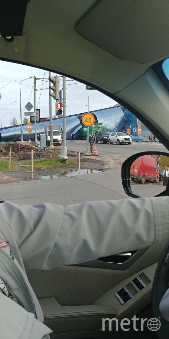 """ДТП в Ленинградской области. Фото https://vk.com/spb_today, """"Metro"""""""