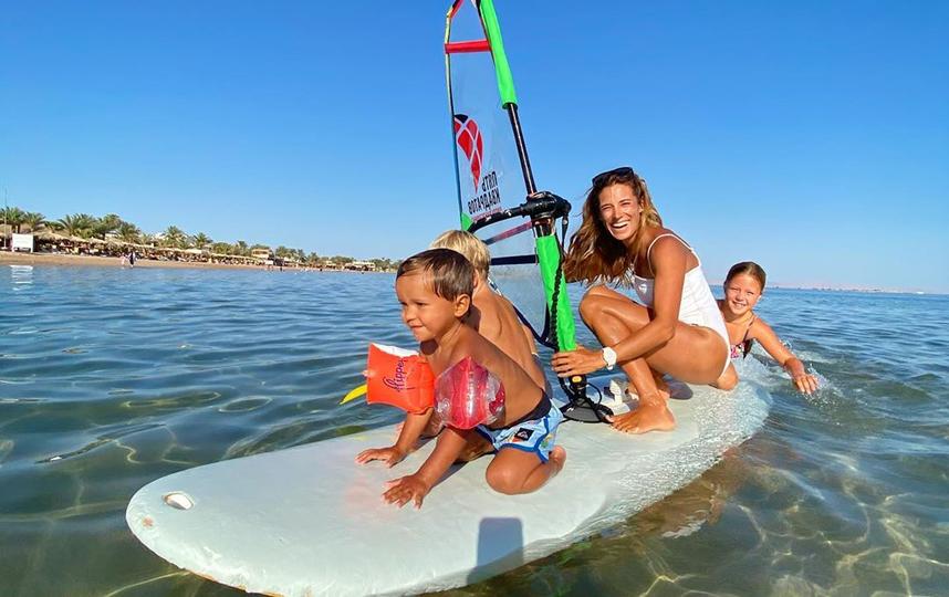 Посты Оли с детьми умиляют и вдохновляют её подписчиков. Фото Instagram @olyaraskina