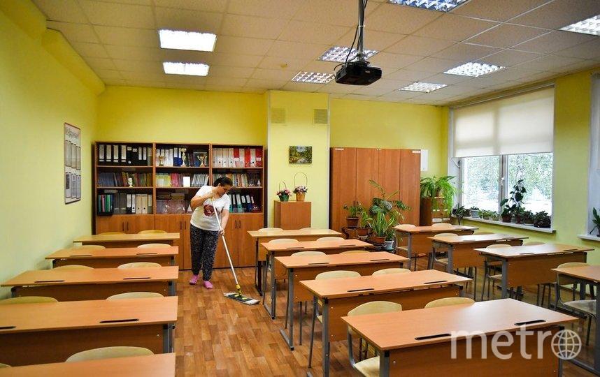 """Решение было принято мэром для того, чтобы существенно снизить эпидемиологическую нагрузку на школы. Фото Киселев Сергей/агентство """"Москва"""""""