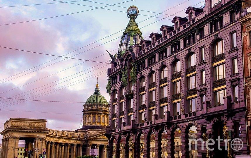 "Санкт-Петербург. Фото pixabay.com, ""Metro"""